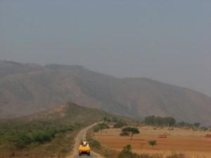 Approah road to Gopalaswamy Betta