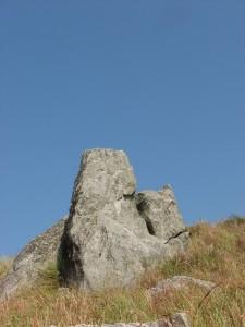 Rock formation at Gopalaswamy Betta