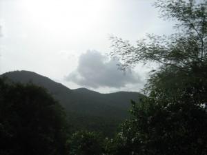 Hills around Muthathi