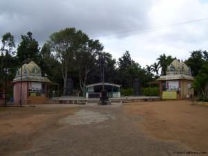 Entrance of Visha Shanti
