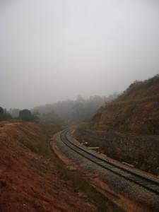 Sakleshpur railway track
