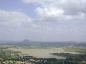 Gudibande ByraSagara Reservoir View