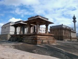 Shravanabelagola Chandragiri Temple Courtyard