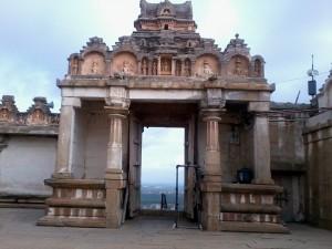 Shravanabelagola Temple Courtyard