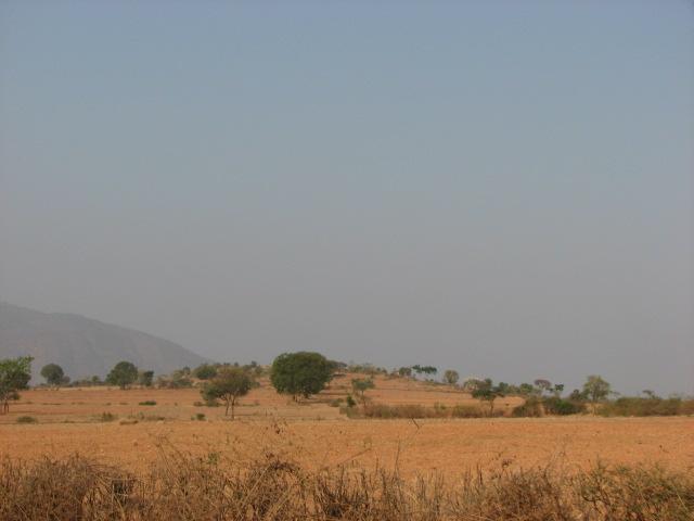 Sunrise on the way to Gopalaswamy Betta