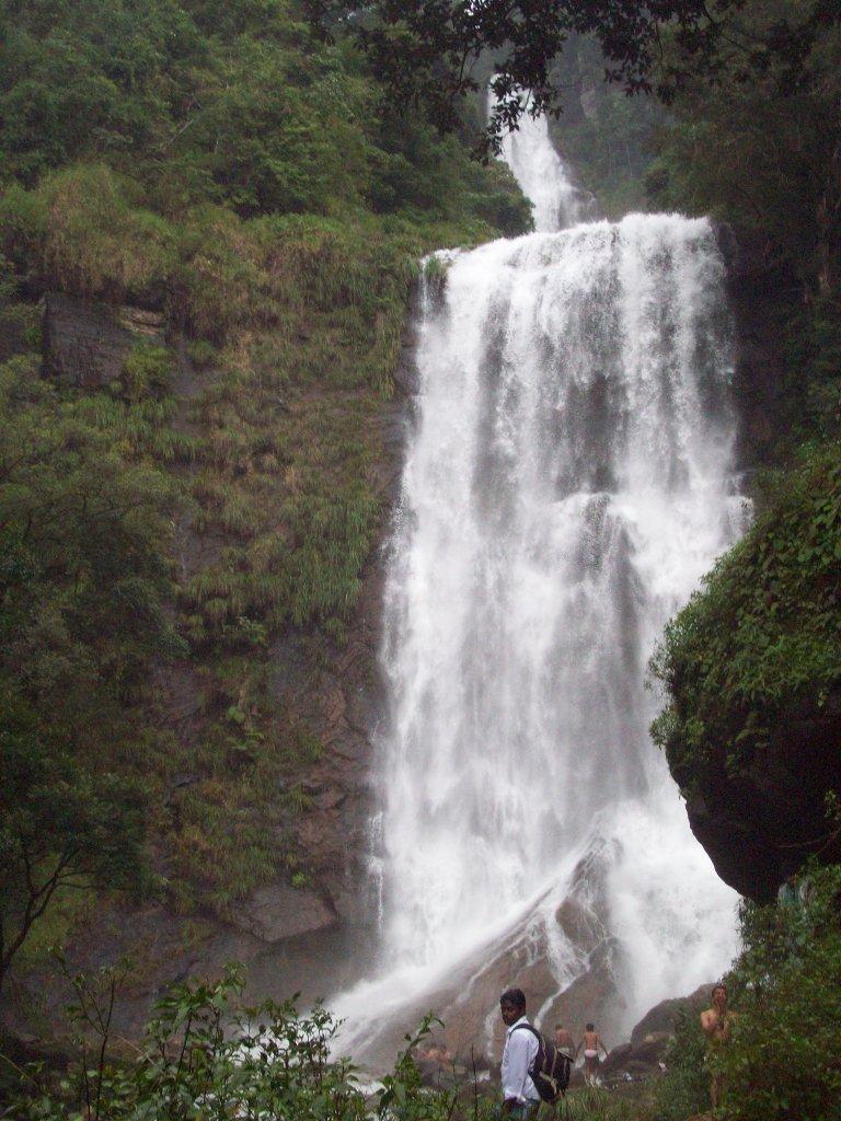 Hebbe Falls at it's full flow