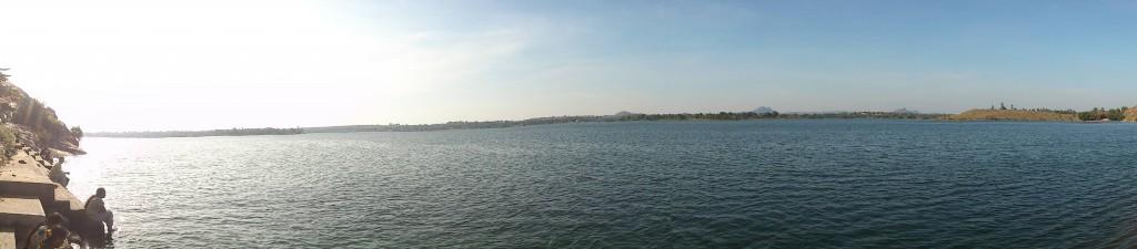 Panaromic view of the lake