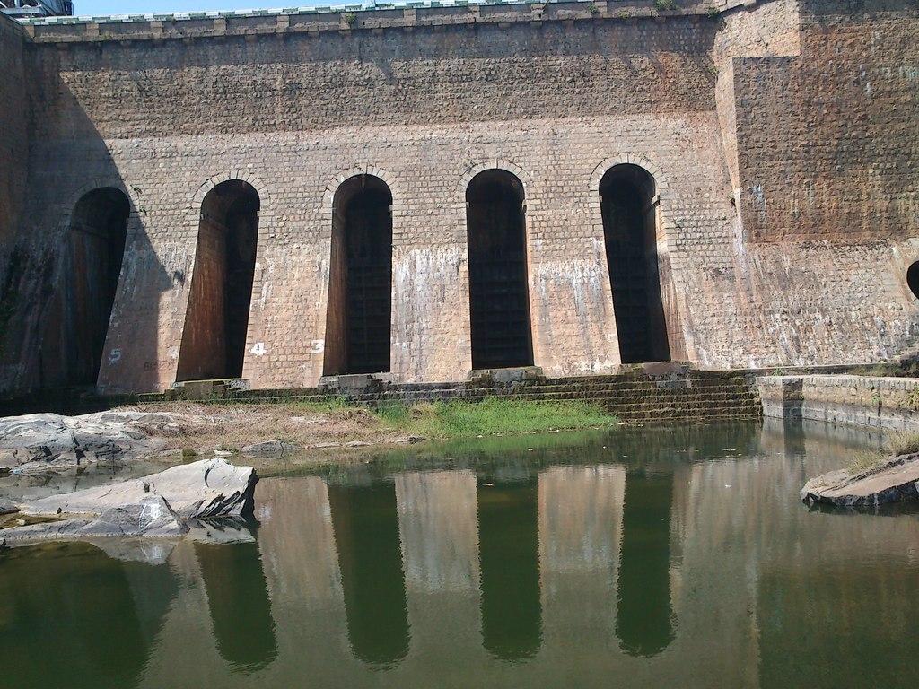 Marconhalli Dam Walls