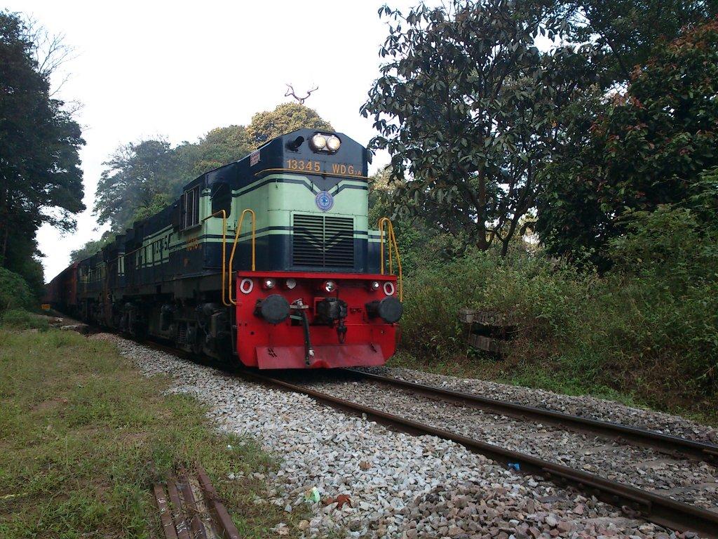 Sakleshpur goods train