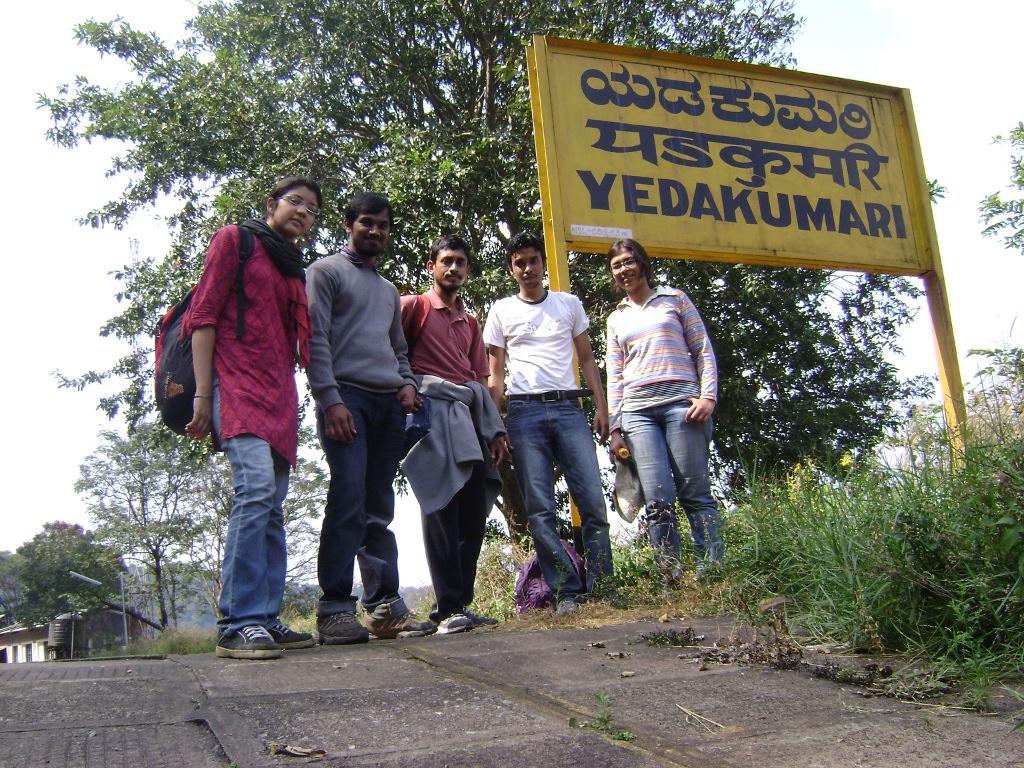 Group at Yedukumari Station