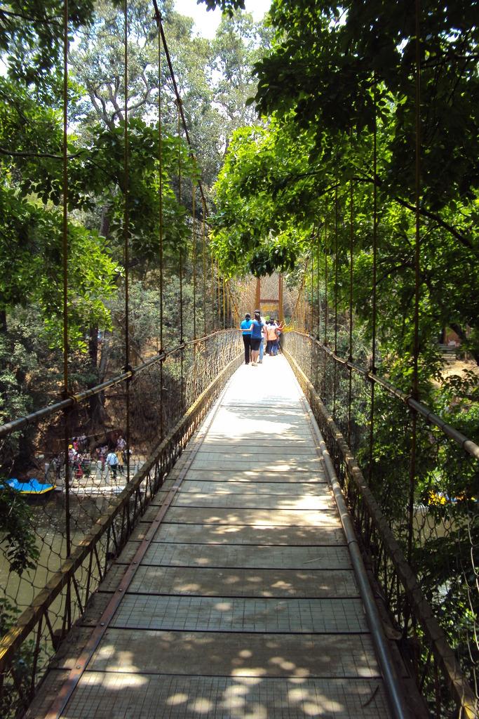 KushalNagar Nisargadhama Rope Bridge