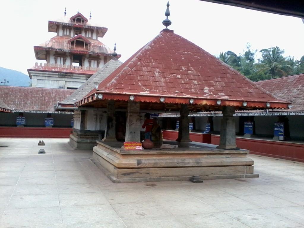 Madikeri Bhagamandala Temple