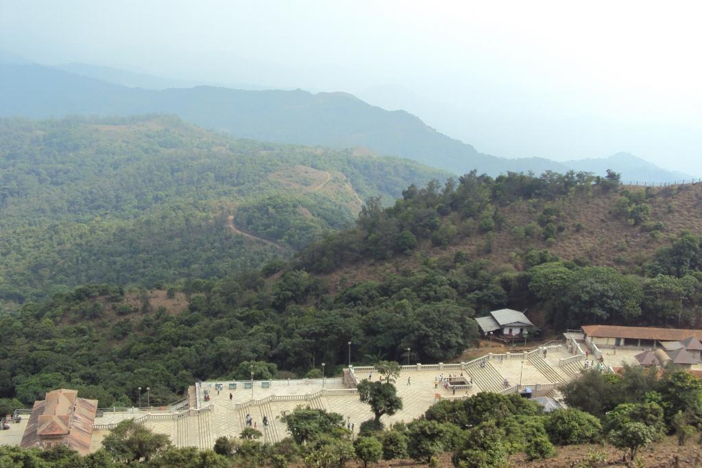 Madikeri Talakaveri View from Top