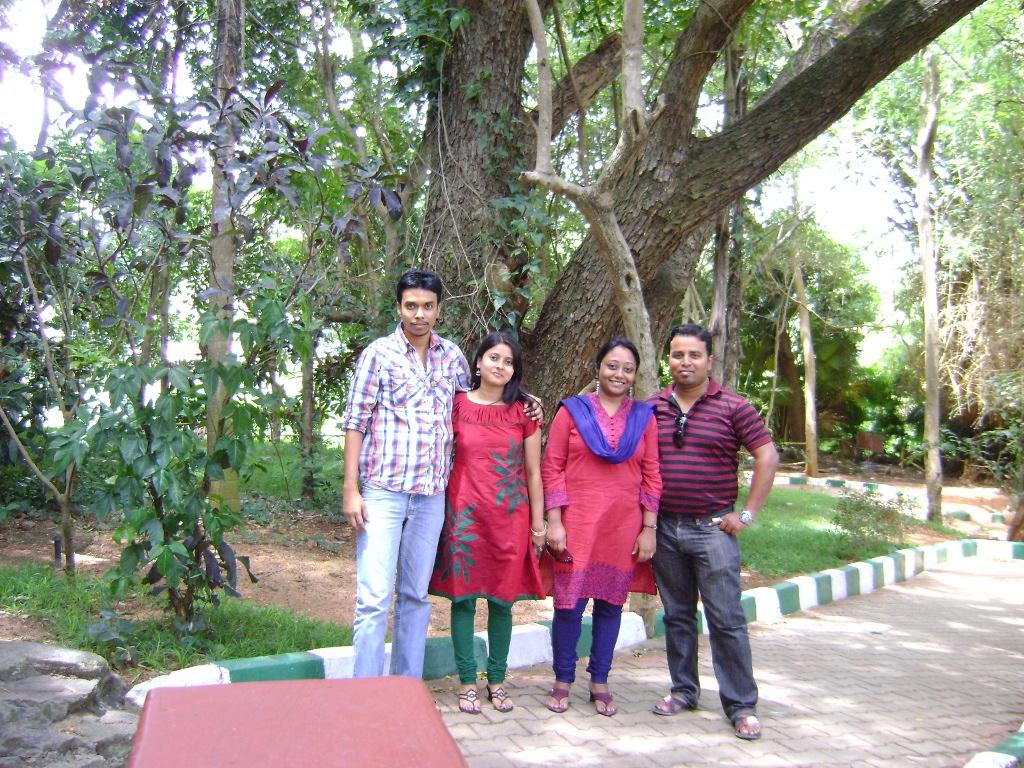 Group Photograph at Ranganathittu Bird Sanctuary