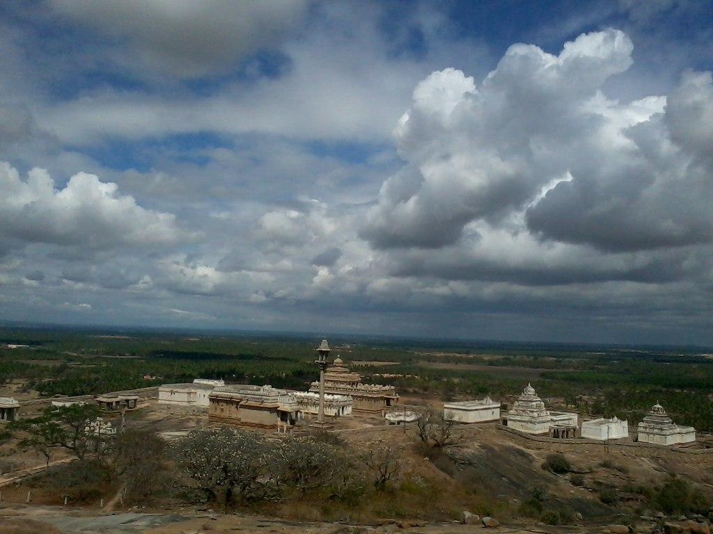 Shravanabelagola Chandragiri Temple