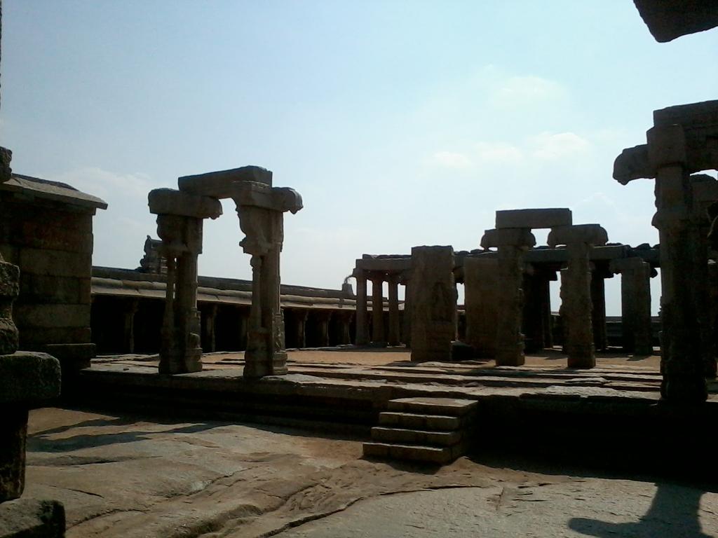 Lepakshi Temple Courtyard